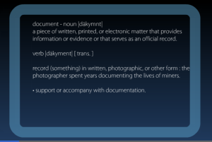Documentary Definition
