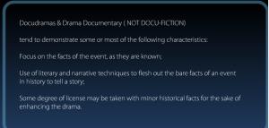 Drama Documentary